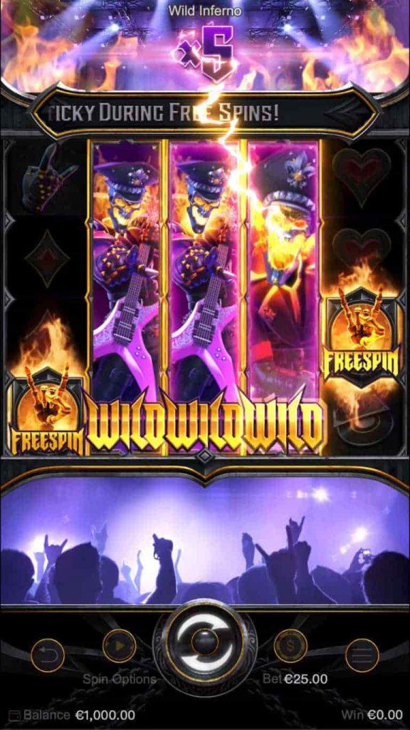 รีวิว เกมสล็อต Wild Inferno