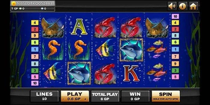 รีวิวเกมสล็อต Dolphin's Pearl Deluxe
