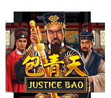 รีวิวเกมสล็อต Juctice Bao