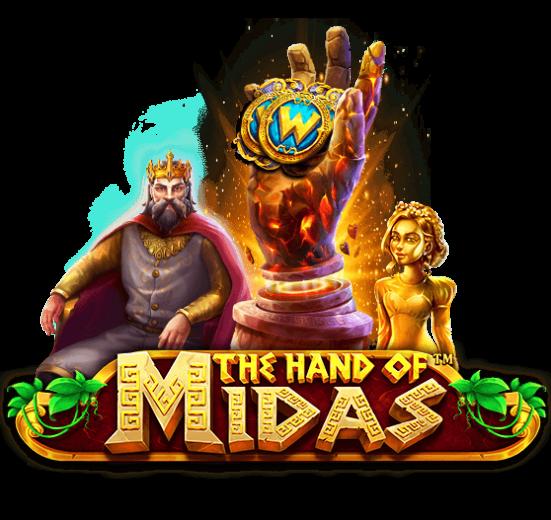 รีวิวเกมสล็อต The Hand of Midas
