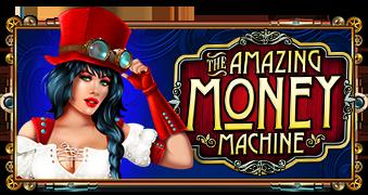 รีวิวเกมสล็อต THE AMAZING MONEY MACHINE